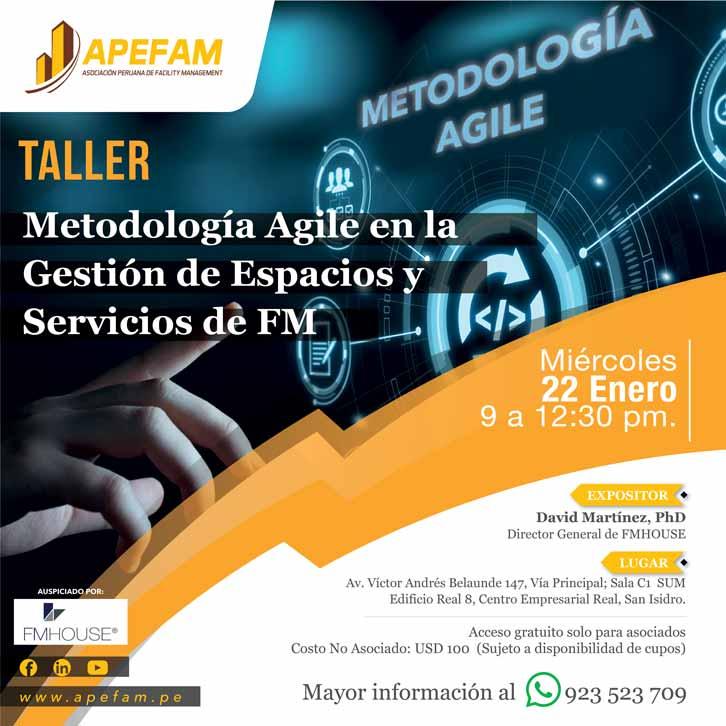 Taller - Metodología Agile en la Gestión de Espacios y Servicios de FM