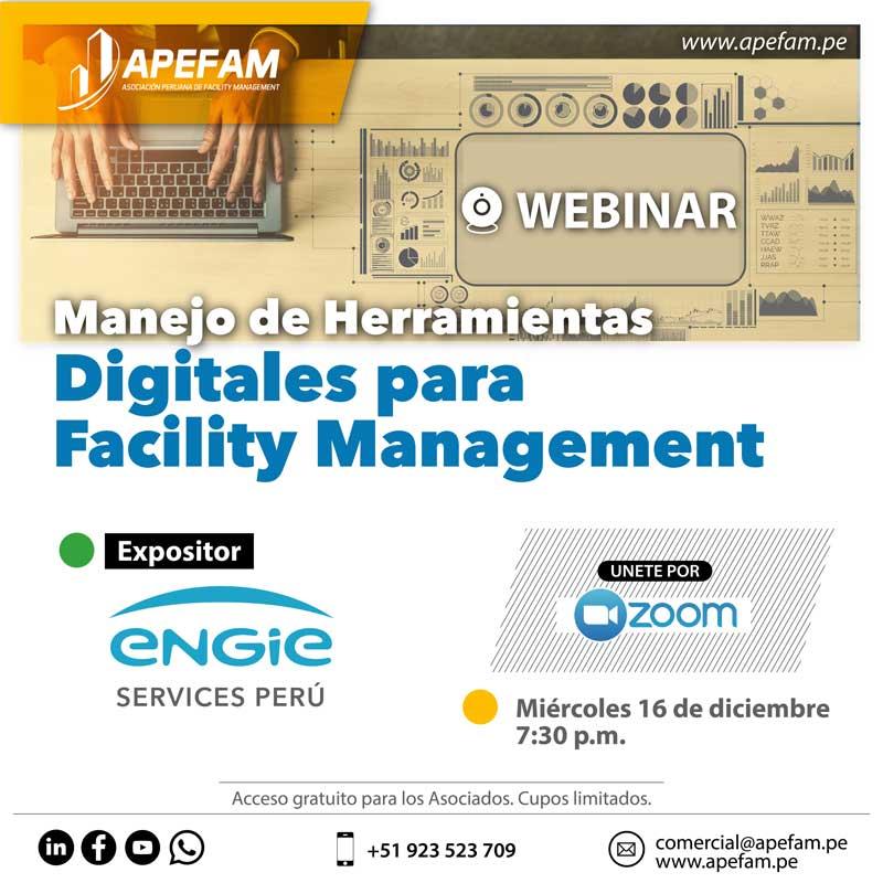 Webinar - Manejo de Herramientas Digitales para Facility Management