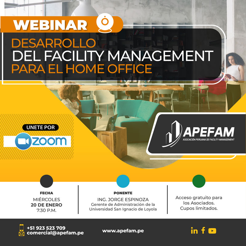 Webinar - Desarrollo del Facility Management para el Home Office