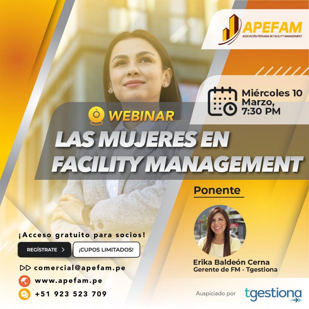 Webinar - Las Mujeres en Facility Management