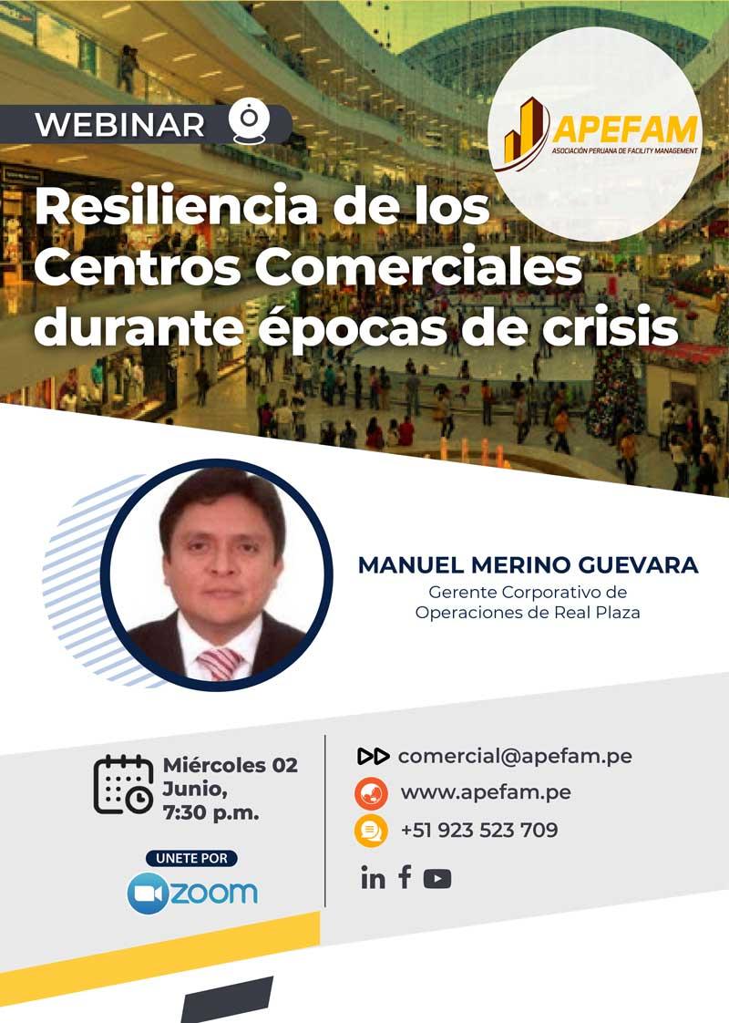 Webinar - Resiliencia de los Centros Comerciales durante épocas de crisis