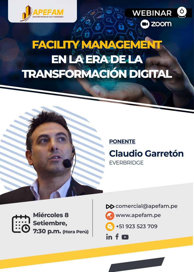 Webinar: Facility Management en la era de la Transformación Digital