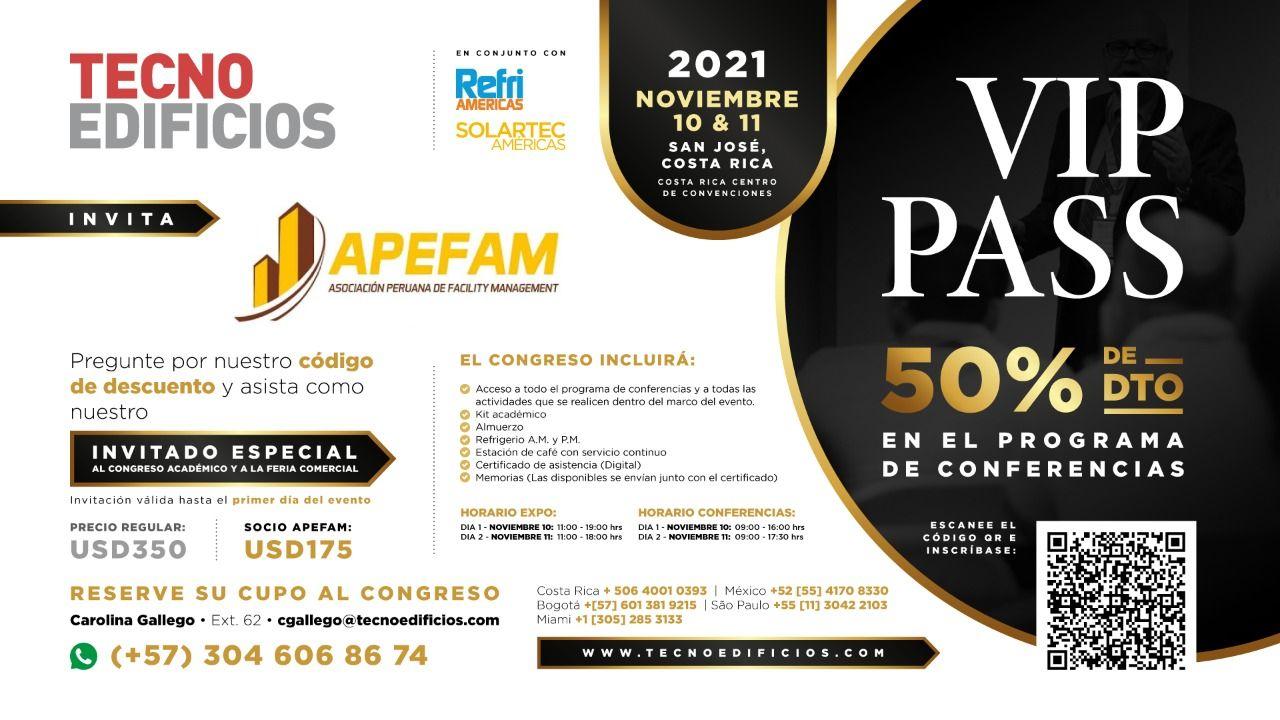 Feria TecnoEdificios 2021 - Costa Rica