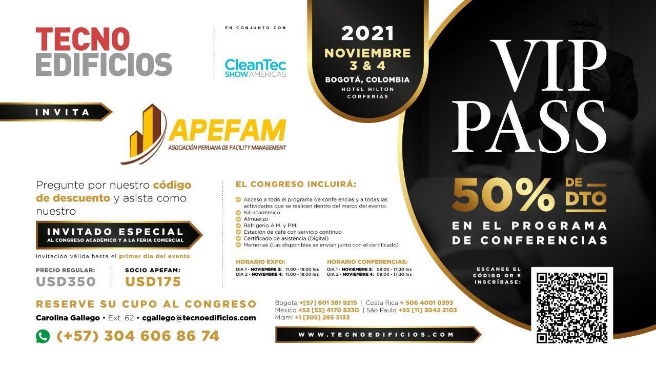 Feria TecnoEdificios 2021 - Colombia